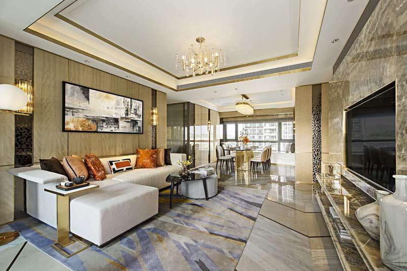 không gian thiết kế thi công nội thất căn hộ