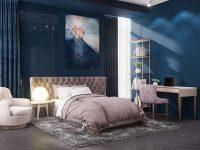 Mỗi thiết bị, vật dụng nội thất cũng nên có sự đồng bộ cả về chất liệu, kiểu dáng và màu sắc với nhau.