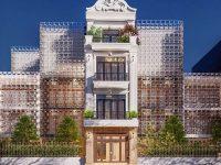Lối thiết kế kiến trúc tân cổ điển luôn có sự cân bằng và đối xứng nhau.