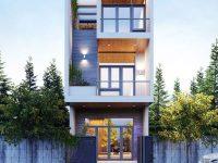 Một giải pháp thiết kế tạo sự thoáng mát cho ngôi nhà khác đó là xây dựng giếng trời.