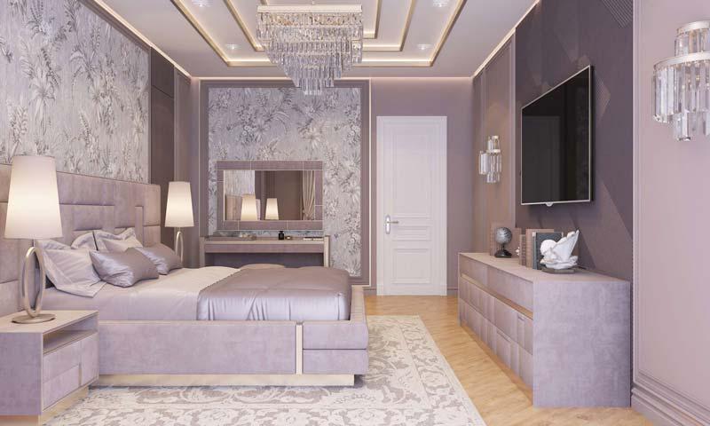 phòng ngủ dành cho mệnh Hỏa