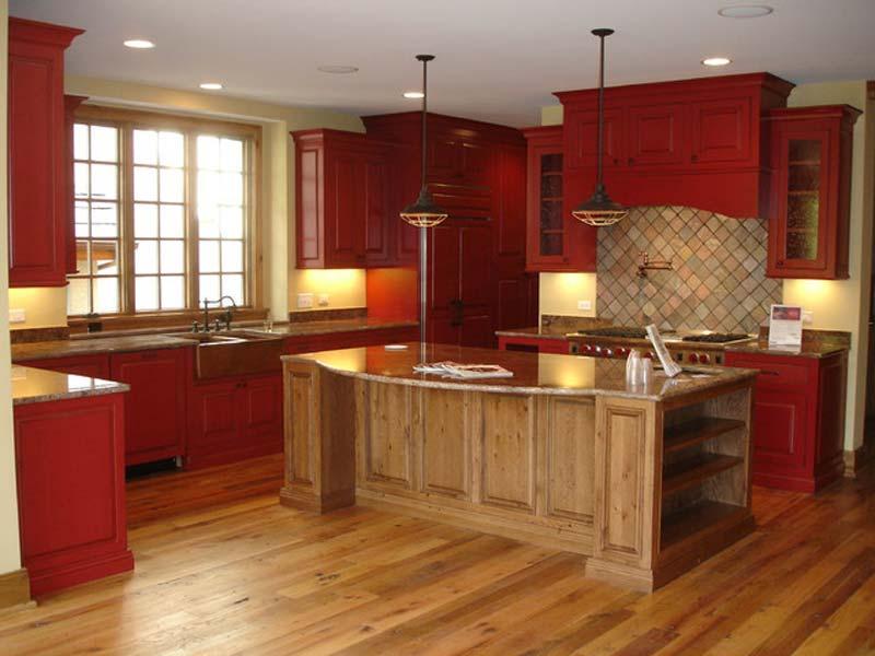 phòng bếp dành cho mệnh Hỏa