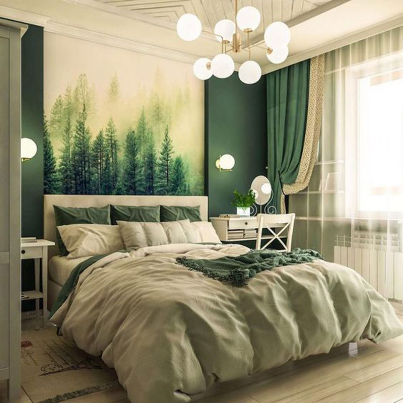 phòng ngủ cho người mệnh Mộc