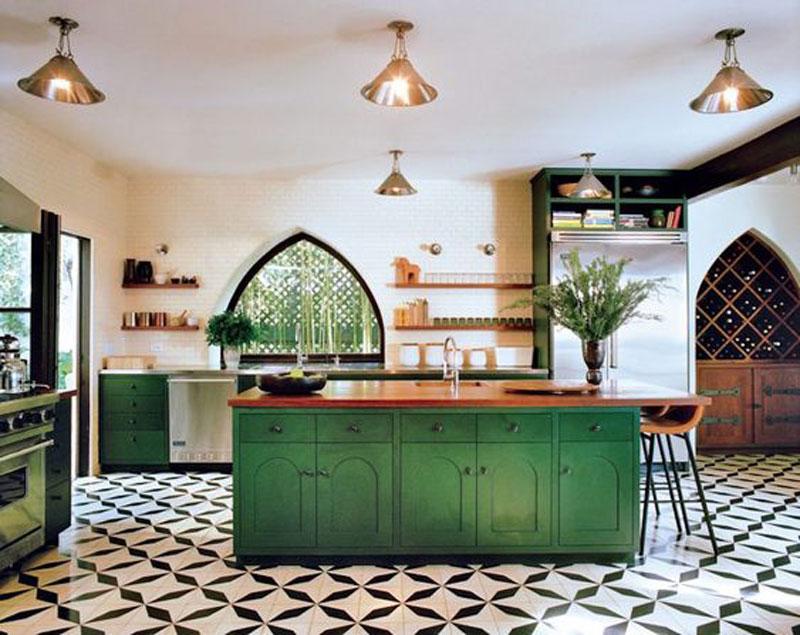 phòng bếp cho người mệnh Mộc