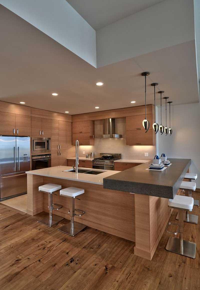 phòng bếp cho người mệnh Thổ