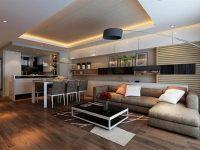 Mẫu thiết kế nội thất chung cư theo phong cách Hiện Đại.